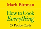 Cook's Cards: How to Cook Everything (1594741425) by Bittman, Mark