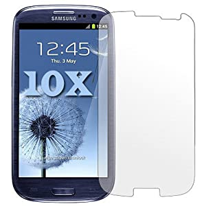 10 X CLEAR FILM LCD LED SCREEN PROTECTOR DISPLAY SAVER FOR SAMSUNG I9300 I9305 GALAXY S3 S-3 S-III