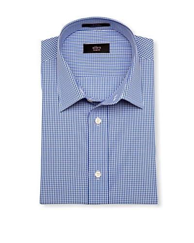 Alara Men's Gingham Slim Fit Dress Shirt