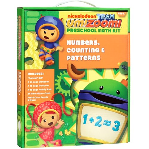 Team Umizoomi: Numbers, Counting & Patterns Pre-K Math Kit (Carnival)