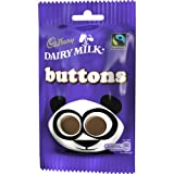 Cadbury Dairy Milk Buttons Bag 65g (Box of 36)