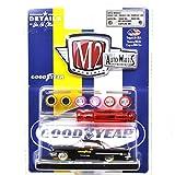 """M2 MACHINES 1:64SCALE """"AUTO-WHEELS"""" """"1957 CHRYSLER 300""""(BLACK/GOOD YEAR) M2マシンズ 1:64スケール 「オート・ホイールズ」 「1957 クライスラー 300」(ブラック/グッドイヤー) [並行輸入品]"""