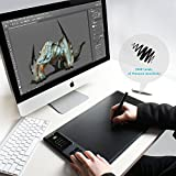 HUION GIANO WH1409 Wireless Graphics Drawing Pen Tablet