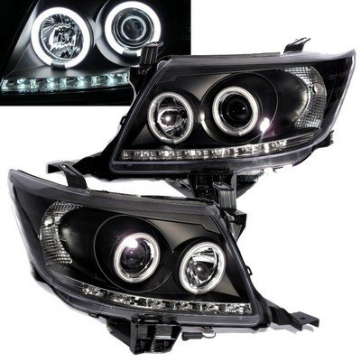 Toyota Hilux Vigo Champ Tacoma Mk7 11 12 Front Headlight Lamp Projector Led