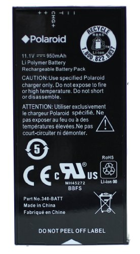 Polaroid High Capacity Replacement Battery For The Polaroid Z340 Instant Digital Camera & For the Polaroid GL10 Instant Mobile Printer