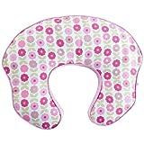 Comfort & Harmony Mombo Deluxe Covered Nursing Pillow Slipcover Blush N' Bloom