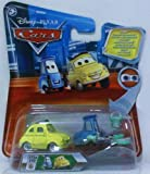 Disney Pixar Cars - Lenticular Series 2 - Guido and Luigi with Rollers and Tray