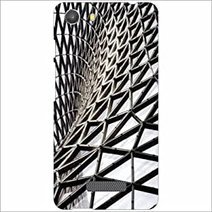 Micromax Unite 3 Q372 Back Cover - Silicon Funky Designer Cases