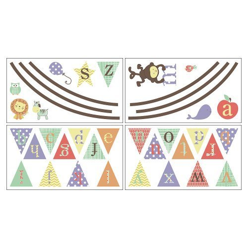 CoCaLo Alphabet Babies Removable Wall Appliques