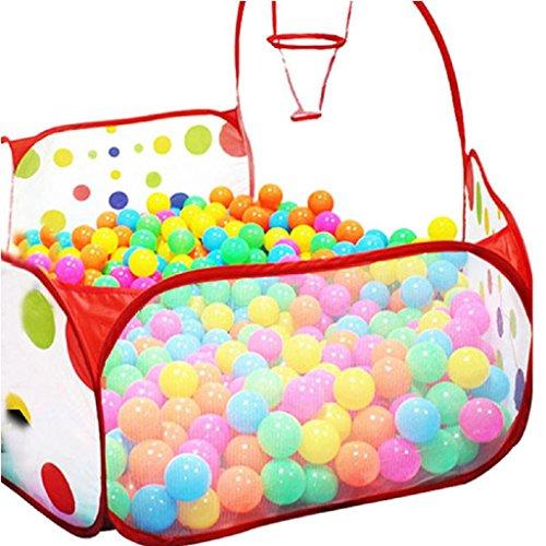 Ularma Pop-Up Esagono Bambini Pois Gioco Ball Pool Tenda Tote Giocattolo Carry +50 Palle