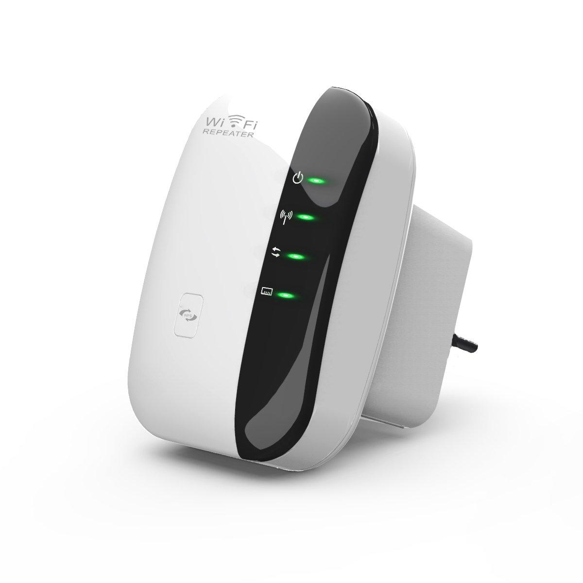 TeckNet 300Mbps WLAN Repeater, WiFi Repeater,