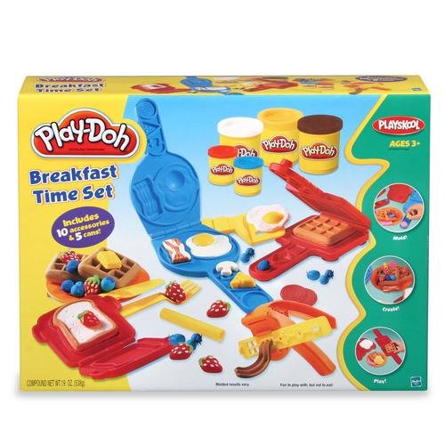 Play-Doh Breakfast Time Bonus Set includes 5 Cans