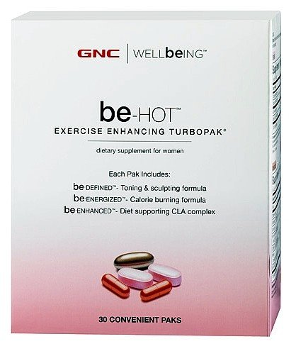 Gnc Well Being Be-Hot Turbopak For Women