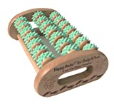 The Happy Company 00364 Foot & Body Roller Massaging Fingers   Aqua