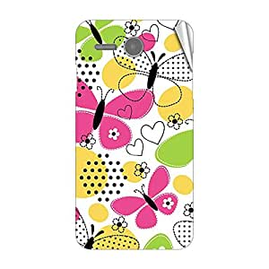 Garmor Designer Mobile Skin Sticker For Lenovo A680 - Mobile Sticker