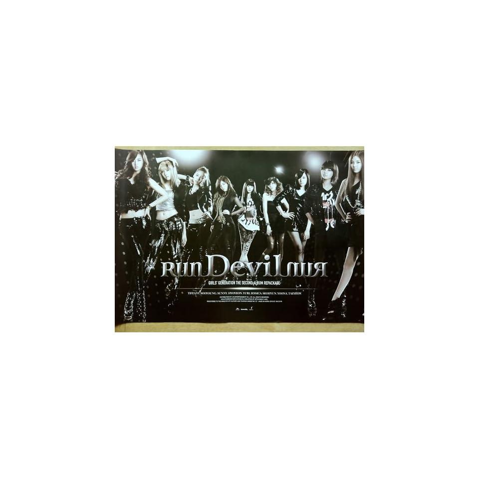 SNSD Girls Generation RunDevilRnun Official Poster KPOP