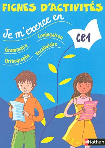 Je m'exerce en grammaire-conjugaison-orthographe-vocabulaire CE1 (French Edition)