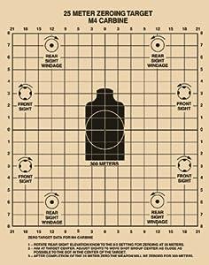 Smart image regarding printable zeroing targets