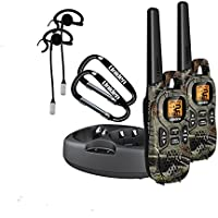 Uniden GMR3799-2CKHS 37-Mile Range GMRS/FRS Radios with Camouflage and Headsets