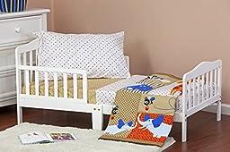 Dream On Me Jungle Babies 4 Piece Toddler Bedding Set
