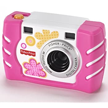 Built tough enough for kids--and now even better! The Fisher-Price Kid-Tough Camera is a real digital camera that's tough enough to stand up to the ways kids play and the places they go. Now it has even more features for better pictures in more situa...