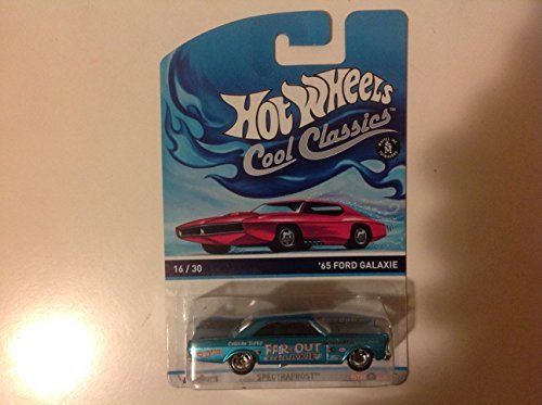 Hot Wheels Cool Classics '65 Ford Galaxie Spectrafrost Blue #16/30 - 1