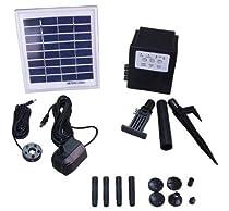 Big Sale Garden Sun Light APP012B 3 Watt Solar Panel with Water Pump Battery LED