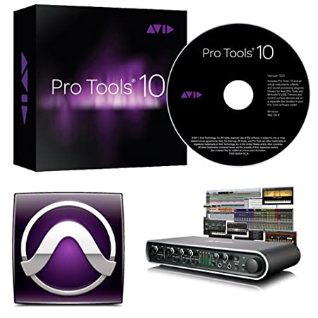 Avid Pro Tools 10 with FREE MBox Pro Includes Pro Tools 9 Software and Free Upgrade to 10
