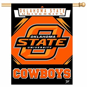 Buy NCAA Oklahoma State Cowboys 27-by-37 inch Vertical Flag by WinCraft