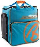 BRUBAKER Skischuhtasche Helmtasche Skischuhrucksack Super Champion Blau Orange - Limited