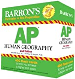 img - for Barron's AP Human Geography Flash Cards, 2nd Edition by Marsh, Meri, Alonga, Peter 2nd (second) Edition (2/1/2013) book / textbook / text book