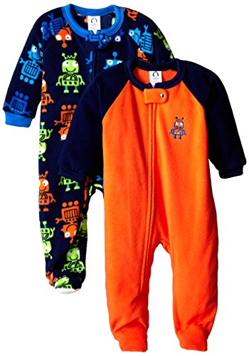 Gerber Baby-Boys Newborn 2 Pack Blanket Sleepers, Robot, 18 Months (Infant Robot Clothes compare prices)