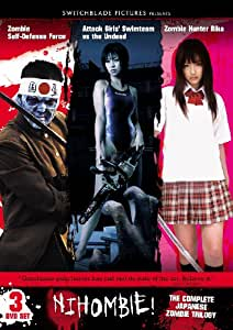 Nihombie! - Zombie Triple Feature: Attack Girls' Swim Team vs The Undead / Zombie Hunter Rika / Zombie Self-Defense Force