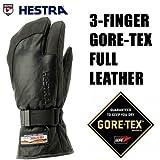 HESTRA(ヘストラ) ヘストラ スキーグローブ ゴアテックス 3-FINGER GTX FULL LEATHER Black(13-14 13/14 2014)hestra スキーグローブ 8