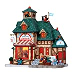 Lemax 15215 Bernies Teddy Bears Christmas Village Lighted Building Store