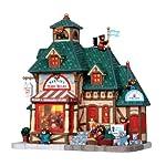Lemax 15215 Bernies Teddy Bears Christmas Village Lighted Building Store