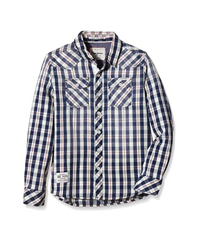 Pepe Jeans London Camicia Bimbo Billy [Blu]