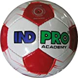 Indpro Unisex Academy Football 5 White Red