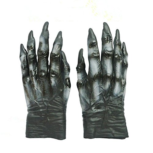 Scary Latex Hands Halloween Props Haunted House Decoration Tricky Toys Easter