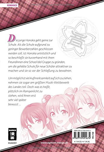 Love Live! School Idol Project 01 Sakurako Kimino Arumi Tokita Egmont Manga