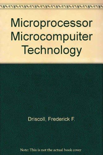 Microprocessor Microcompuiter Technology
