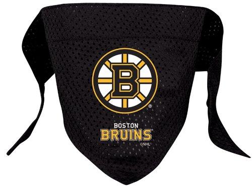 Nhl Boston Bruins Pet Bandana, Team Color, Large front-962544