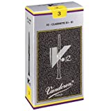 Vandoren V-12 Bb Clarinet Reeds, Box of 10 - 3 Strength