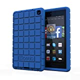 Fire HD 6 Case - Poetic Fire HD 6 Case [GraphGRIP Series] - [Lightweight] [GRIP] Protective Silicone Case for Amazon Kindle Fire HD 6 Blue (3 Year Manufacturer Warranty From Poetic)