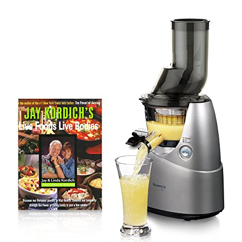 Kuvings Whole Slow Juicer B6000sr Silver Includes Sorbet And Smoothie Strainer : Awardpedia - Kuvings Whole Slow B6000