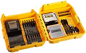 DEWALT DW2583 Heavy-Duty 65-Piece MAC Container Accessory Set