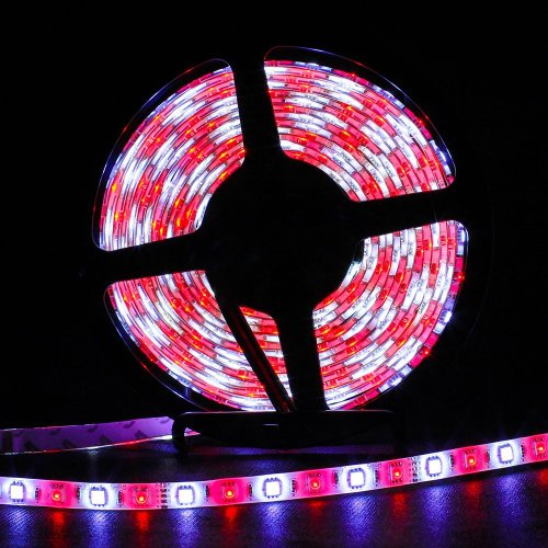 Sinollc 5050Smd Super Bright Flexible Rgbw Rgb + White Color Mixed Led Strip Light With Controller Power Adapter Dc 12V 2014 New Style Led Strip Light