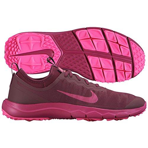Nike Ladies FI Bermuda Golf Shoes 8 1/2 US Medium Deep Garnet/Fuchsia/Pink (Deep Garnet/Pink/Pink)