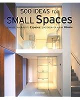 500 idées pour petits espaces : Edition trilingue français, anglais, allemand