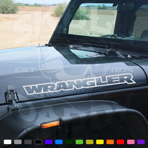 Vinyl Jeep WRANGLER Side Hood Stickers